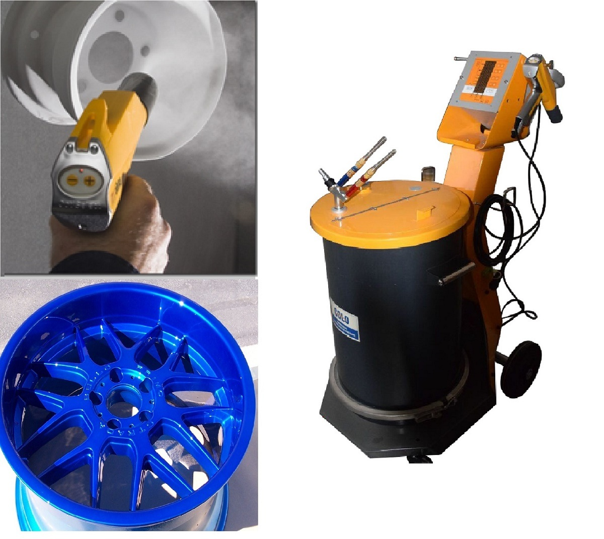 Electrostatic Powder Coating Equipment (Manual spraying Gun)
