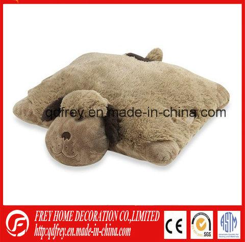Factory Wholesale Purple Stuffed Hippo Animal Pillow