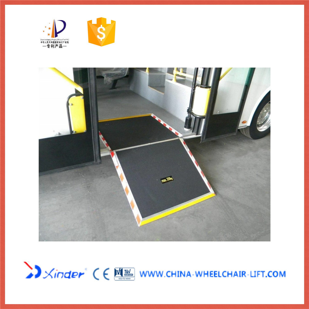 Manual Wheelchair Ramp for City Bus (FMWR-1A)