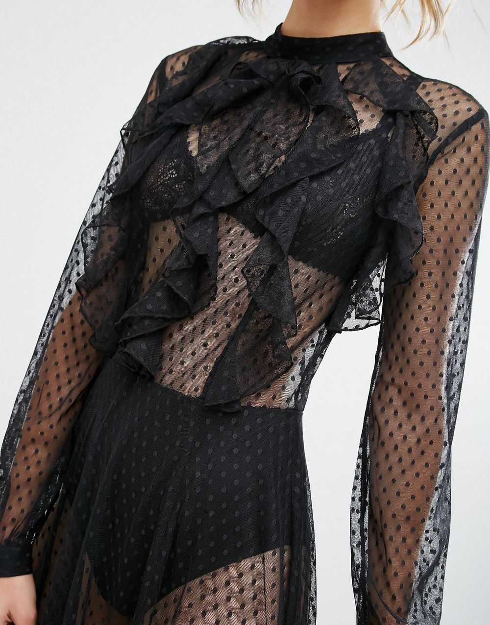 DOT Mesh Fabric for Wedding Dress at Low Cost