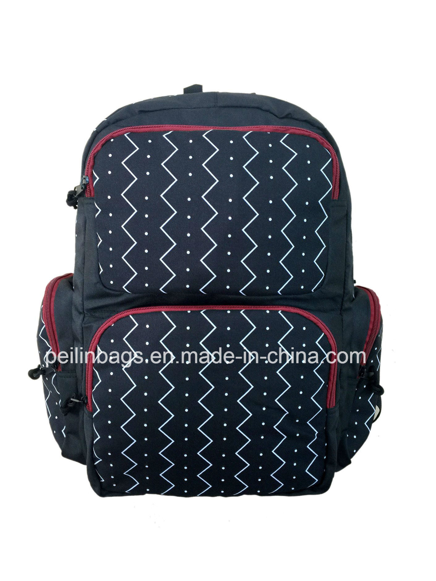 Stylish Multi-Compartment Backpack for School, Travel