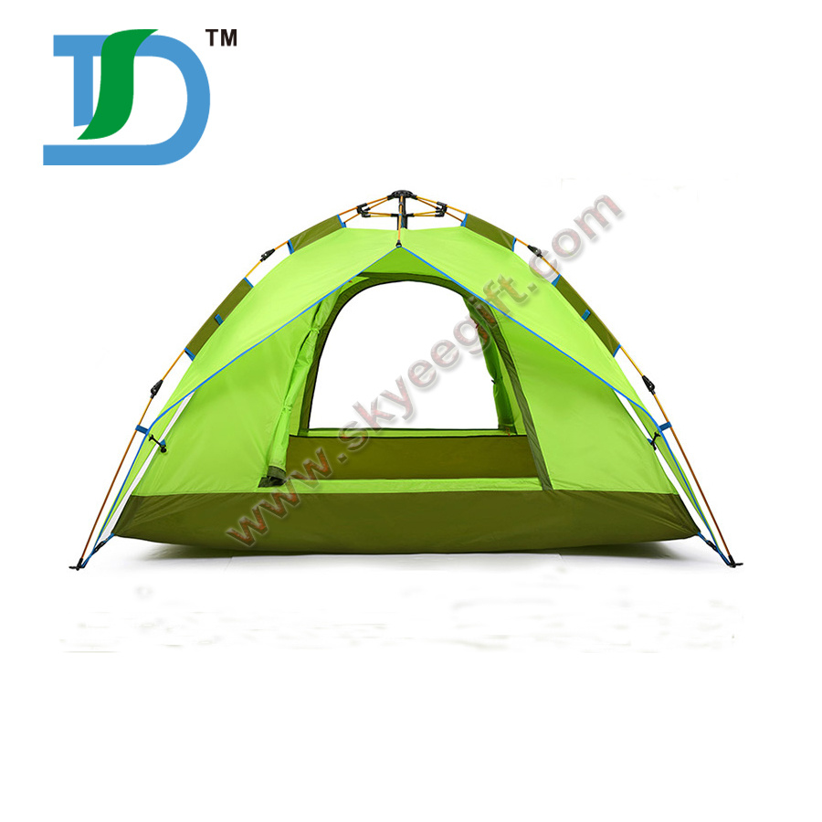 Travel Folding OEM Dome 3-4 Persons Double Layer Tent for Events