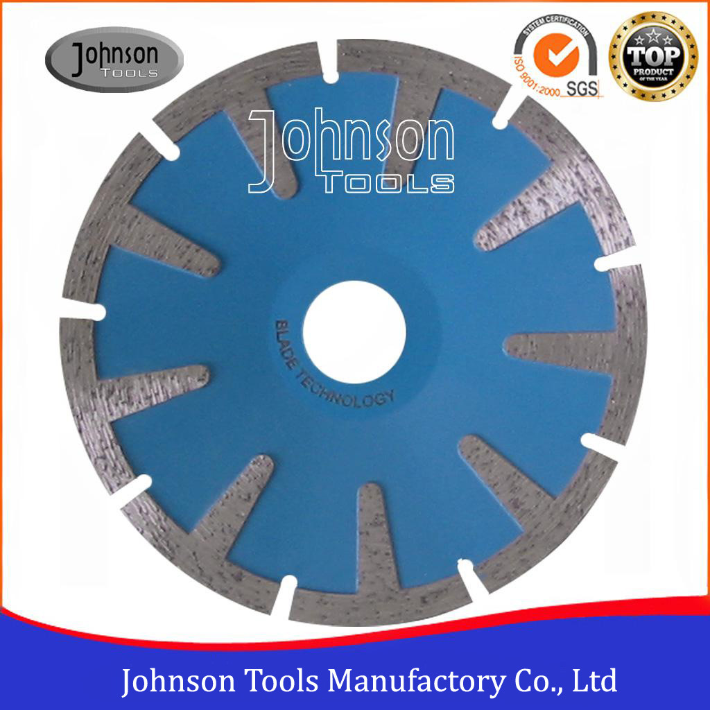 125mm Sintered Concave Blade T Shaped Granite Cutting Saw Blade