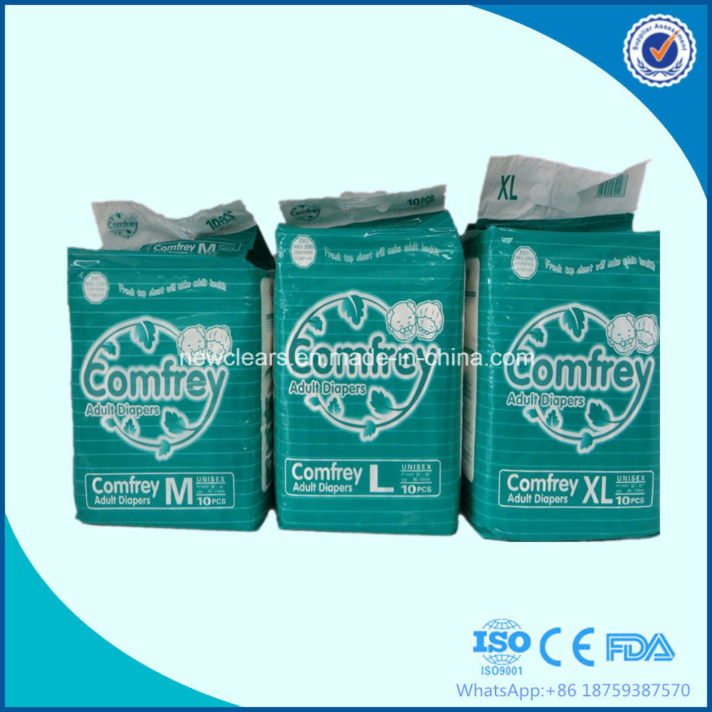 Adult Diaper Factory with Comfrey Adult Diapers