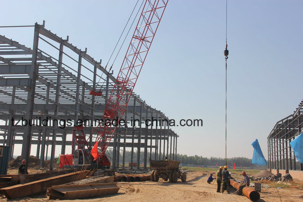 Turn-Key Steel Structure Plant Projects