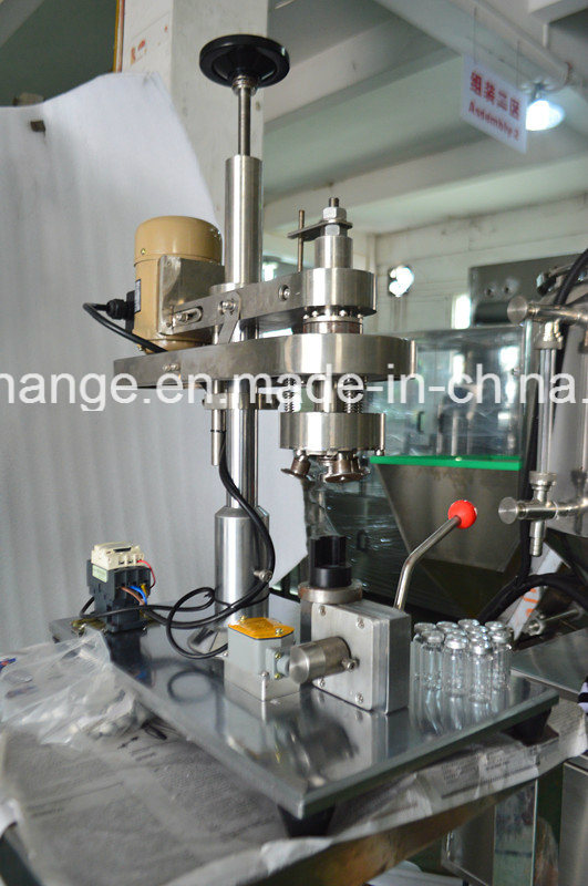 Semi-Auto Crimp Capping Machine for Vial Ampoule Penicillin Bottle