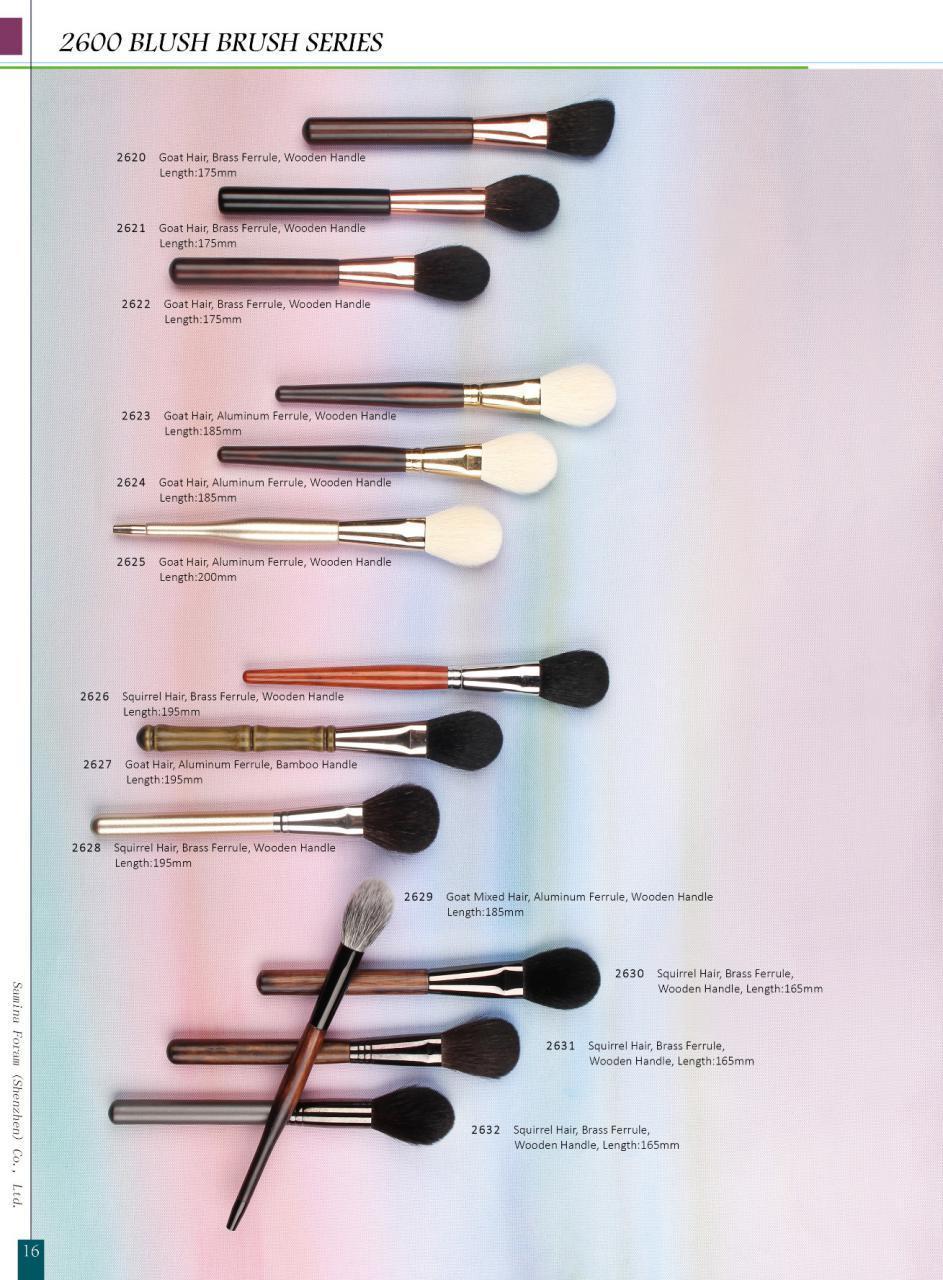High Quality Blush Powder Cosmetic Makeup Brush