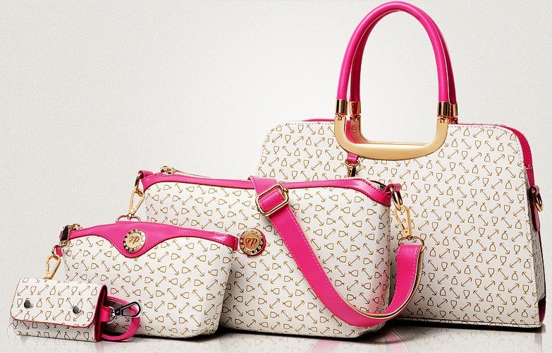 Fashion Style 4PCS Set Bags Designer Handbag Leather Handbag (BDMC096)