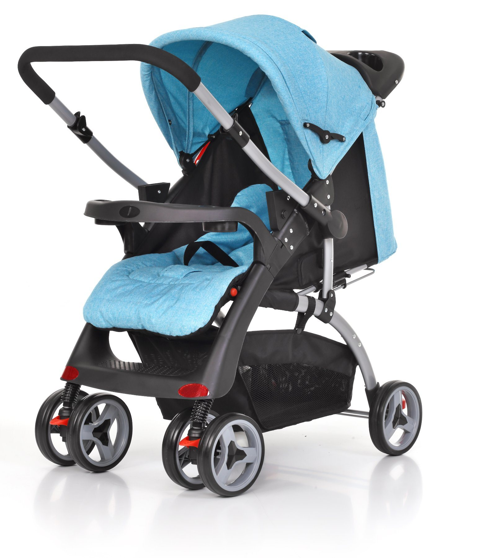 European Standard Luxury Fold Baby Pram with Car Seat