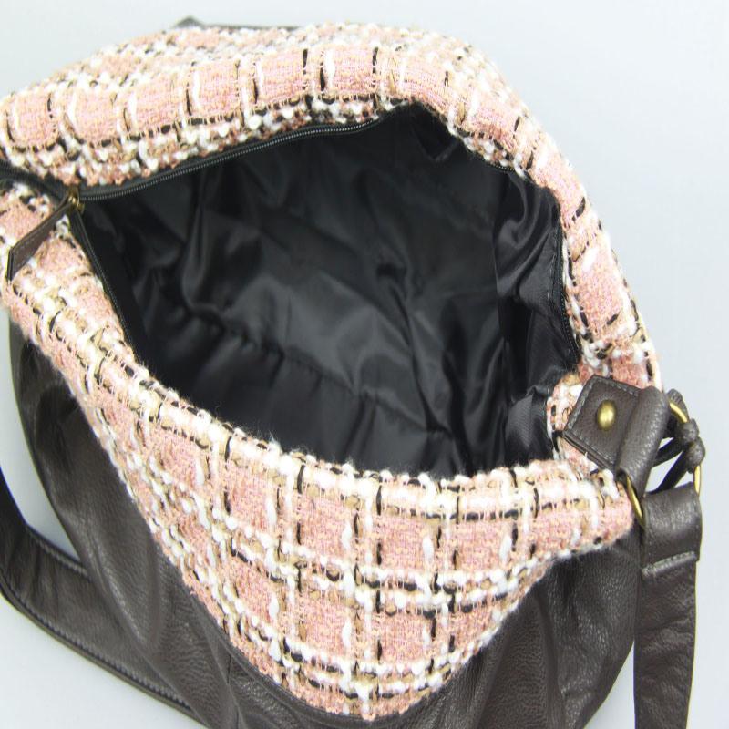 Girls PU Handbag Fashion Shoulder Handbag