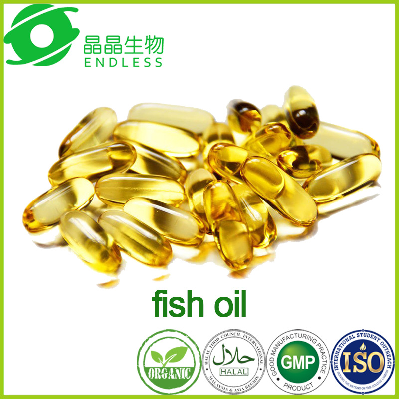 High Quality Omega 3 Fish Oil Halal Softgel