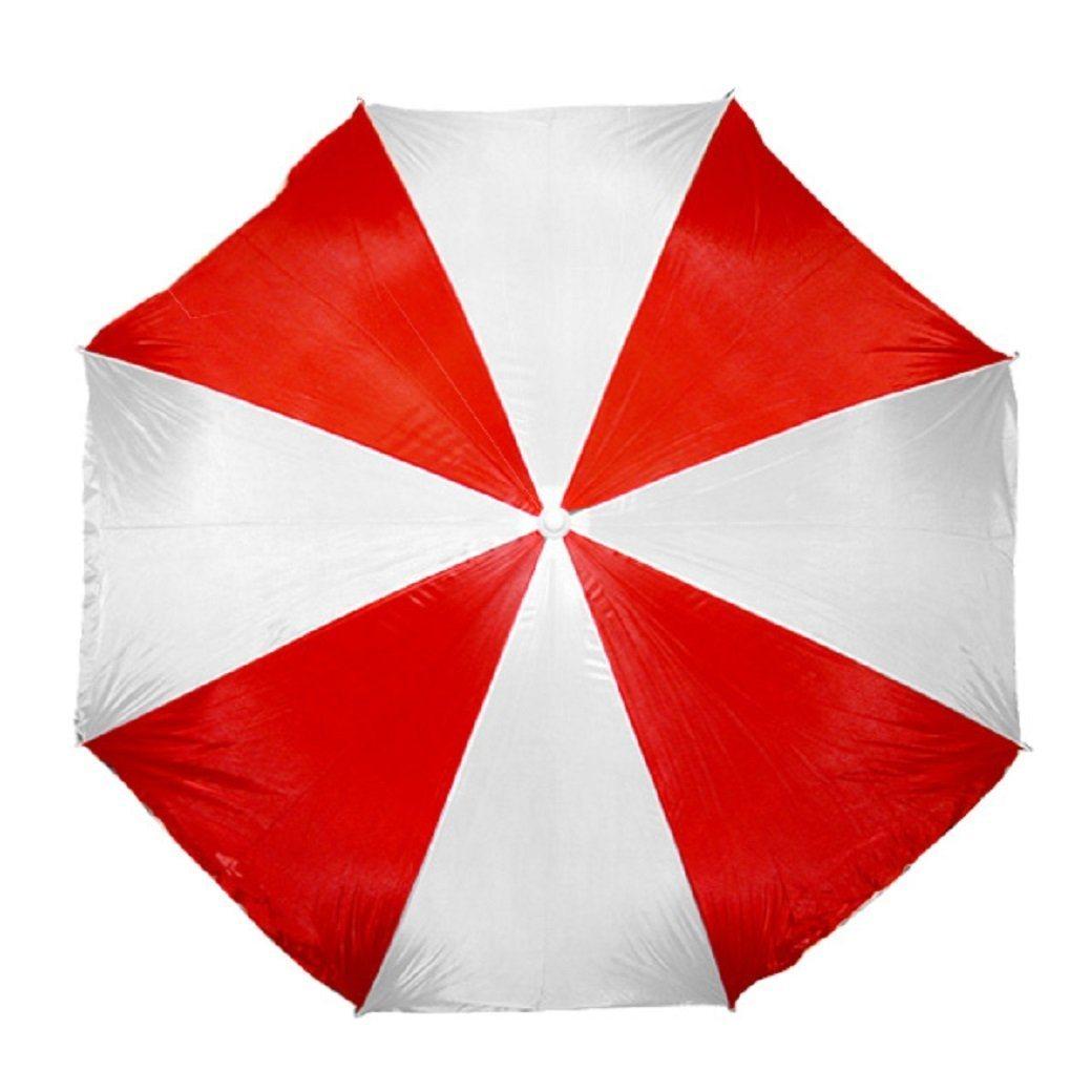 6FT Rainbow 170t Polyester Steel Rib Cheap One-off Beach Umbrella