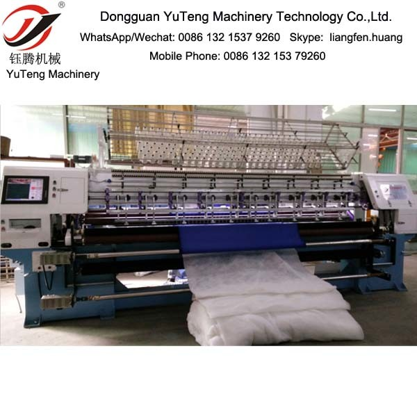 3 Meters Computerized Multi-Needle Quilting Machine Ygb128-2-3