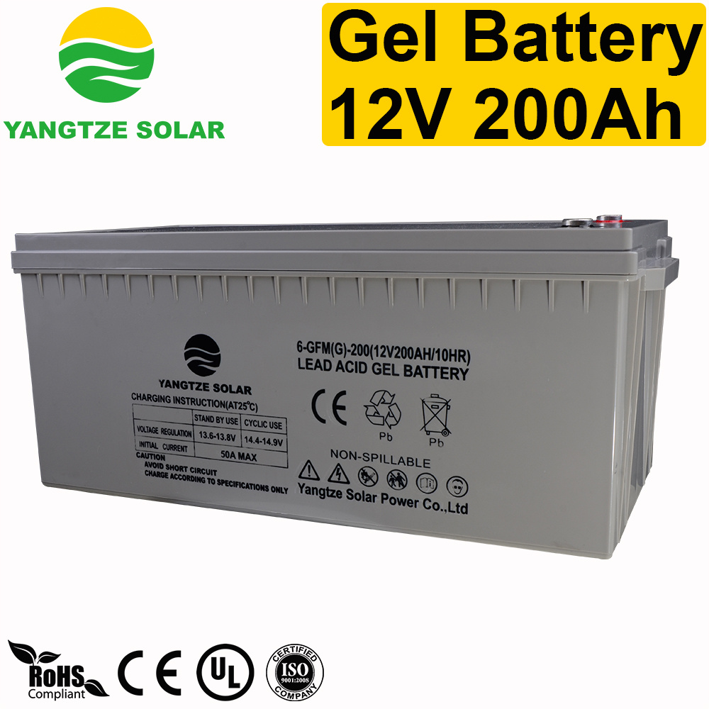 Top Sales 12V 200ah Gel Deep Cycle Battery