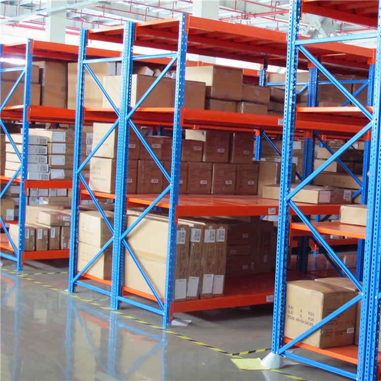 Long Span Racking with Shelves for Manual Picking