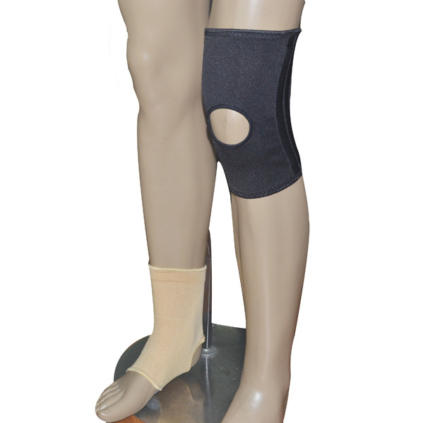 Elastic Sport Knee Support with Natural Fibres