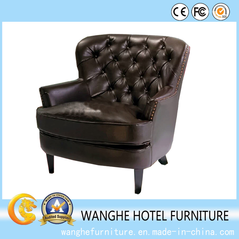 Simple Leather Divans Furniture Antique Chair Dining Chair