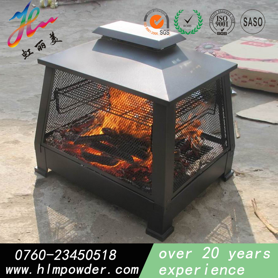 Silicon Based Heat Resistant Powder Coatings with RoHS Standard for Cast Iron Oven