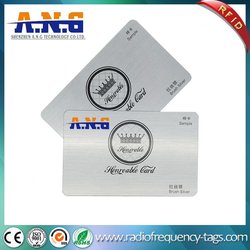 Custom Printing MIFARE 1k PVC RFID Smart Business Card