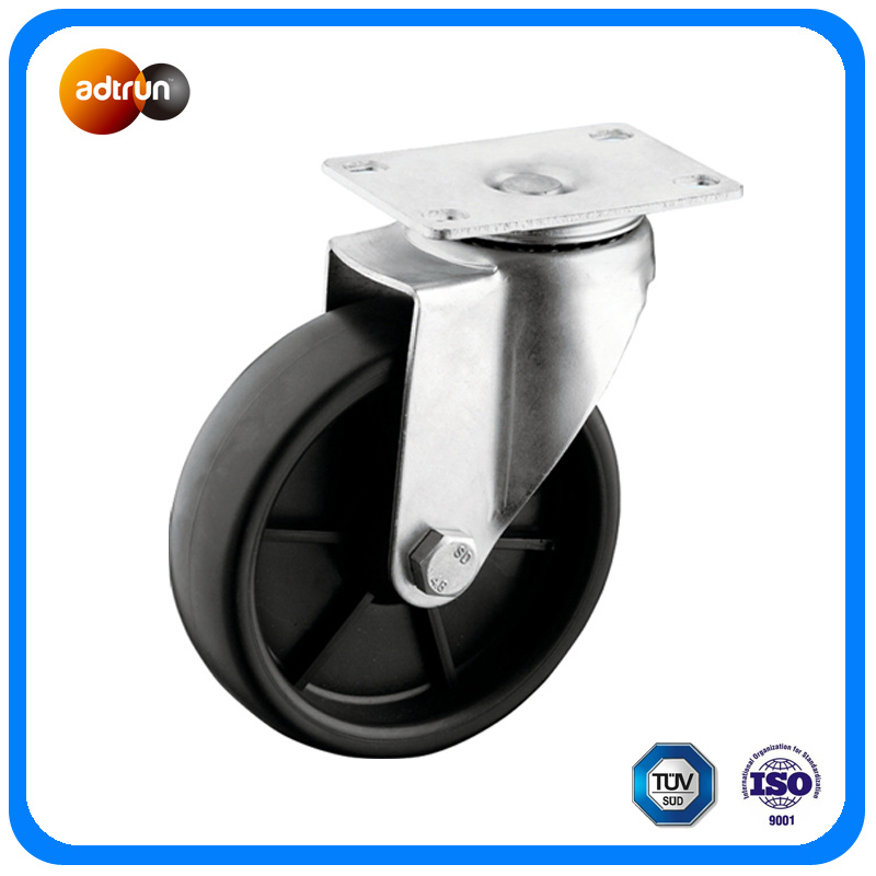 Medium Duty 5 Inch Swivel PP Caster Wheels