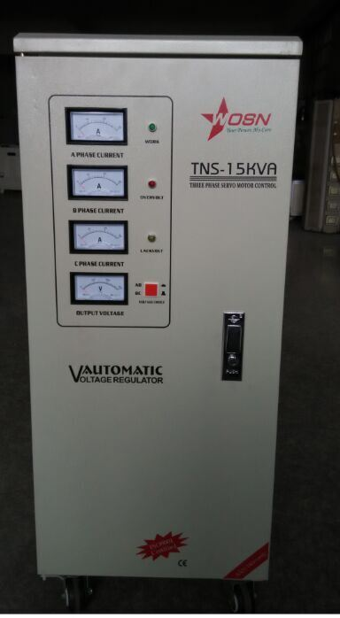 Tns Series 15kVA 3 Phase AC Automatic Voltage Regulator / Stabilizer