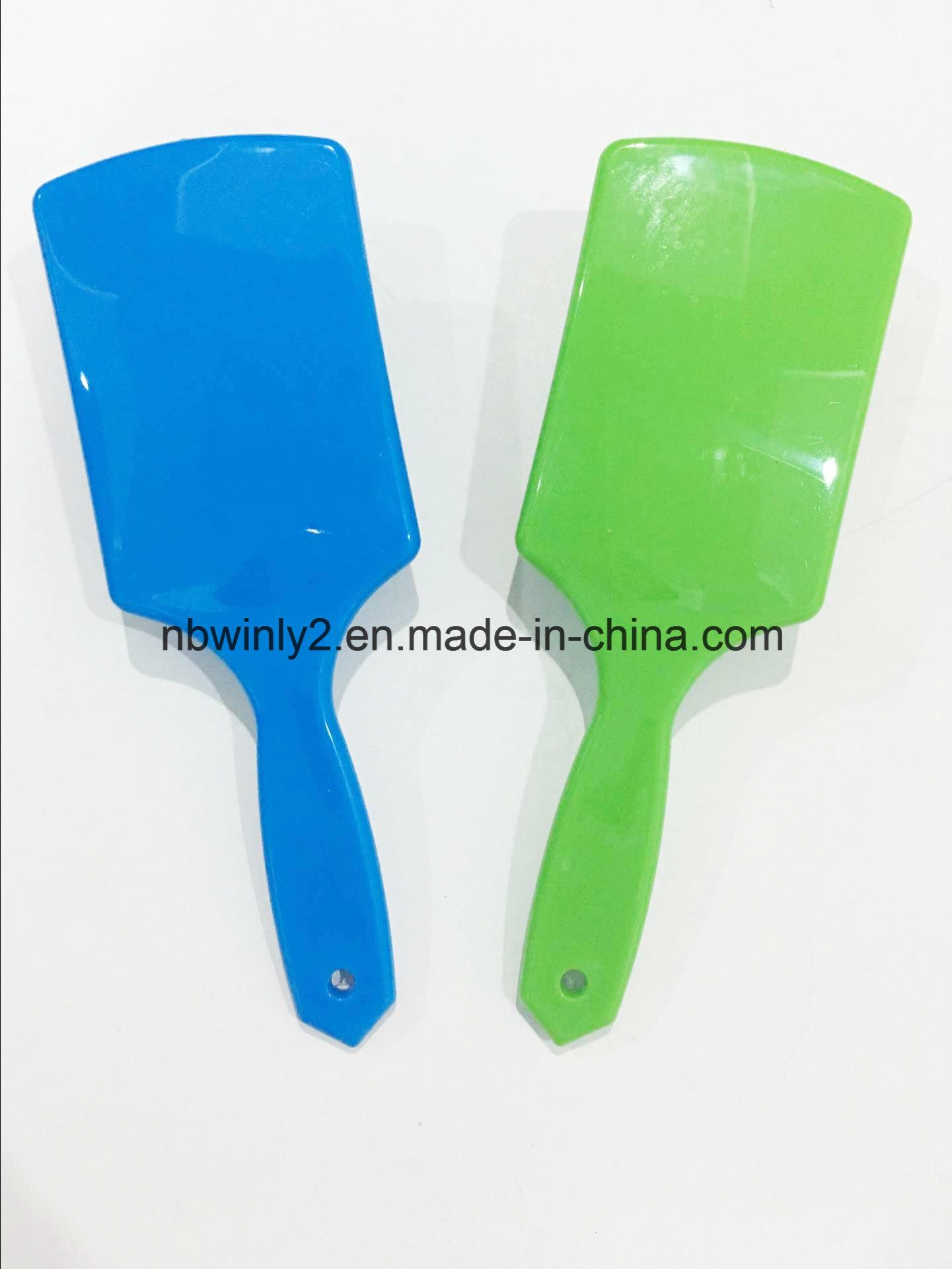 Flat Plastic Hairbrush