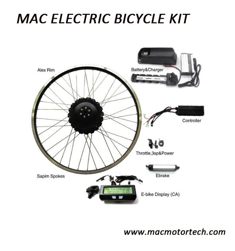 Mac 320rpm / 500rpm Ebike High Power Motor