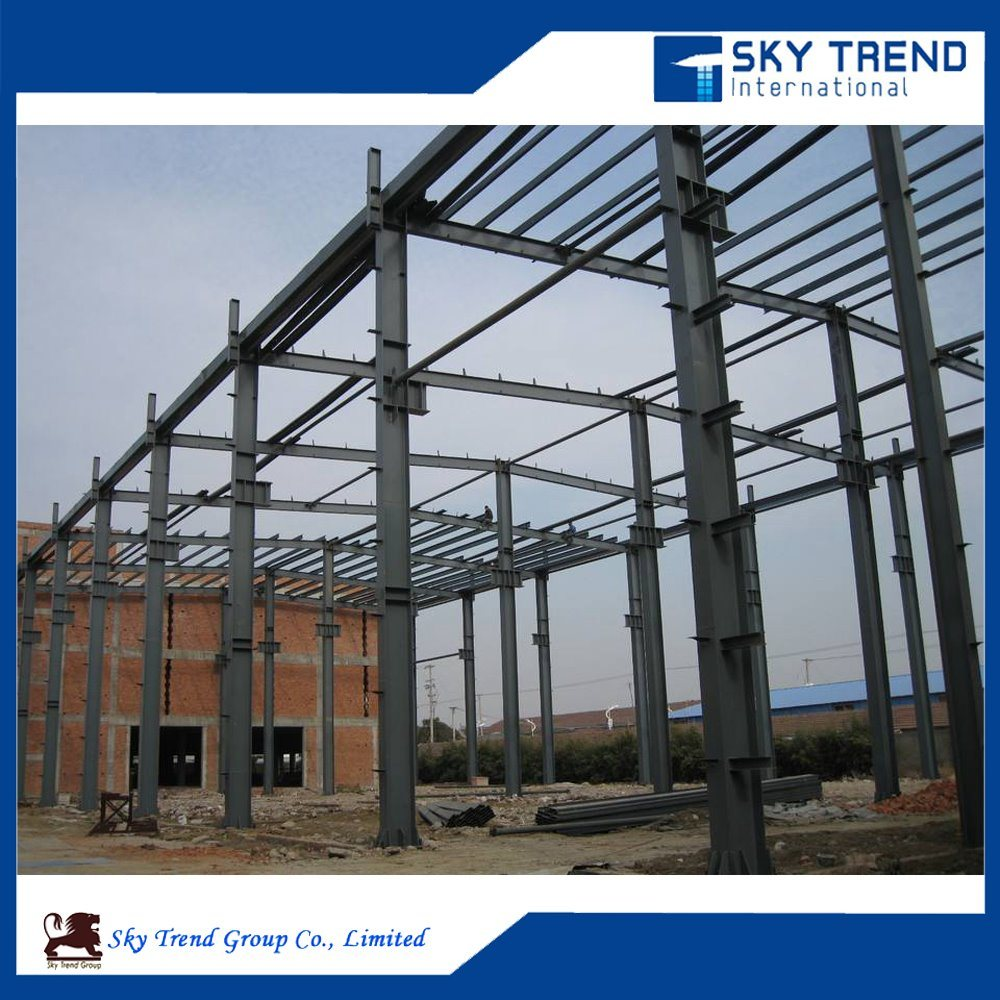 Pre Engineering Residential Building Steel Structure Shed