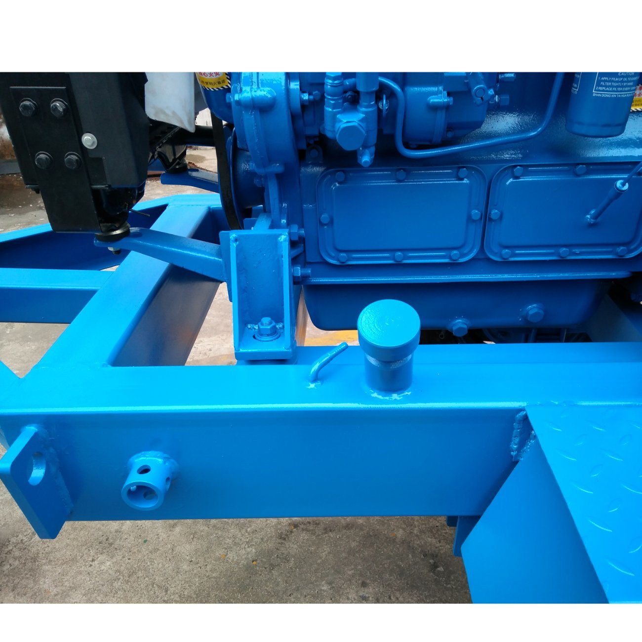 Quick Move Diesel Engine Driven Sewage Pump for Waterlog