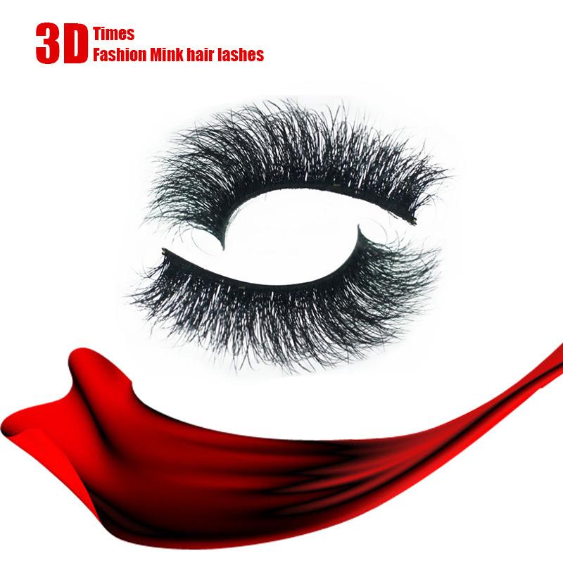 3D Multi-Layer Mink Hair Eyelashes Handmade Sexy False Eyelashes