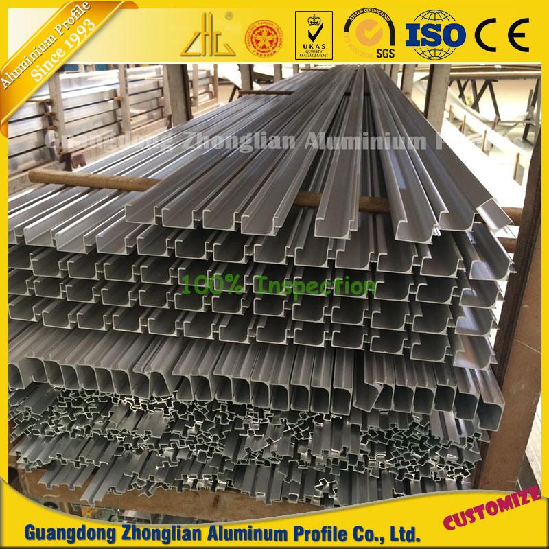 China Manufacturer Extruded Anodized Kitchen Aluminum Aluminium Extrusion Profile