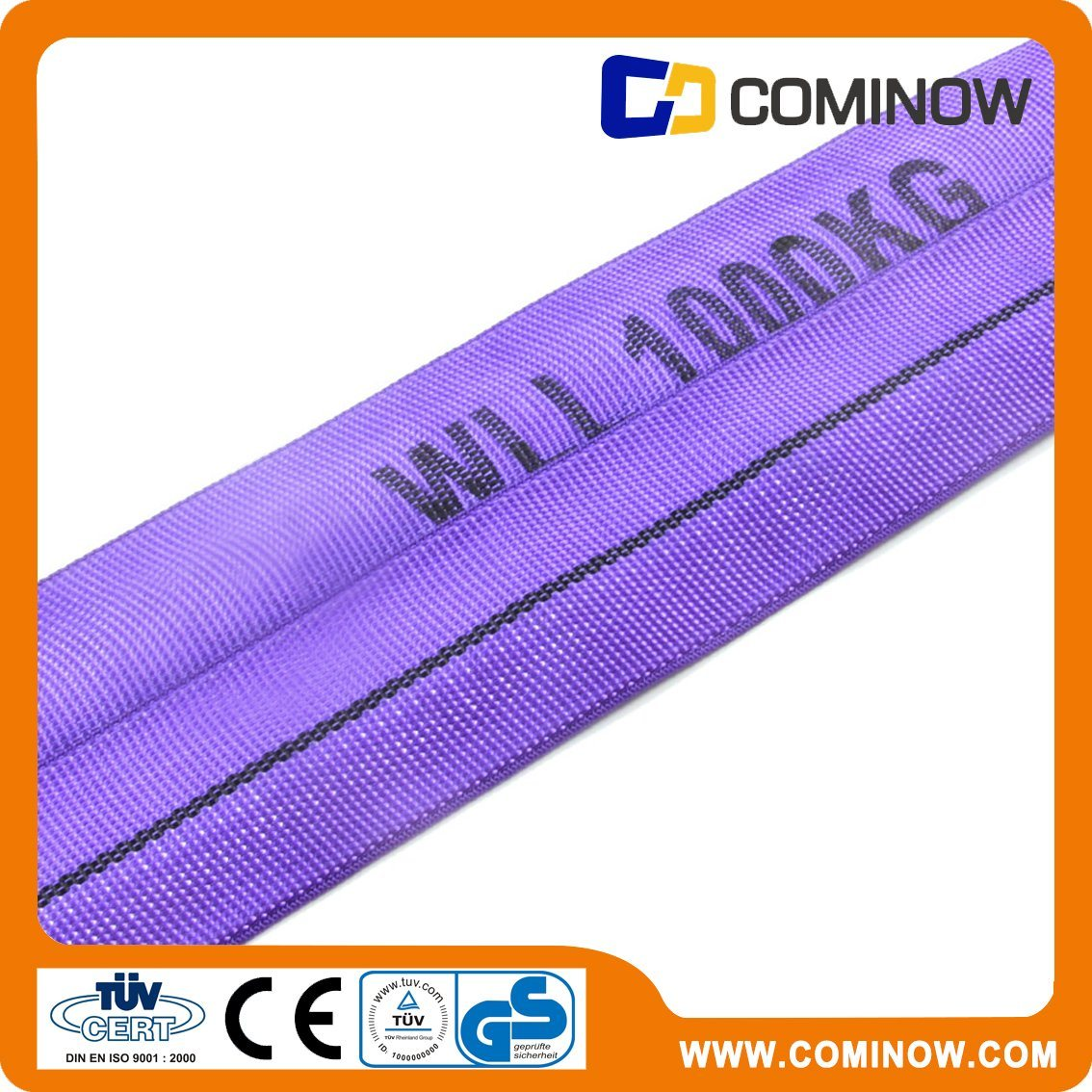 Polyester Endless Roundslings / Roundsling / Polyester Roundsling 1000kg with Ce&GS