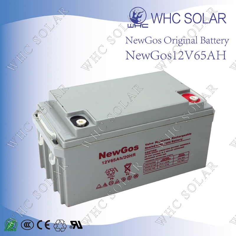 Deep Cycle Solar Battery 12V 65ah Lead Acid Battery