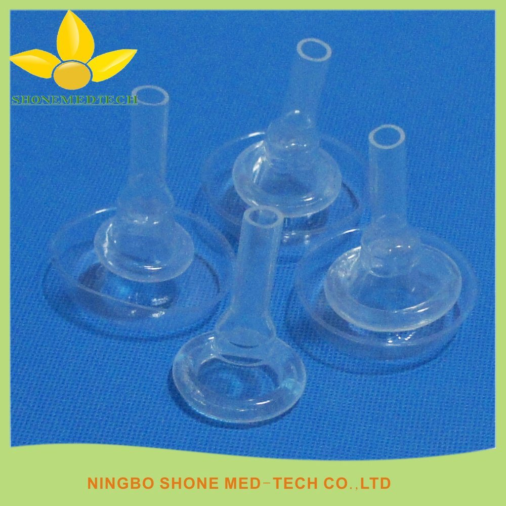 Disposable Adhesive Silicone Male Catheter
