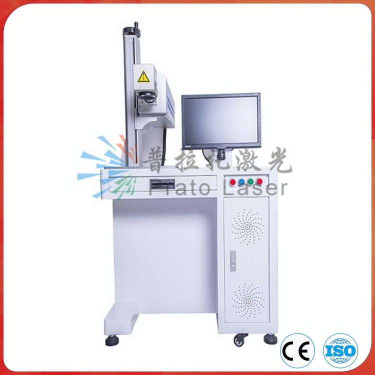 30W CO2 Laser Marking Machine for Bar Code Expiry Date on Non Metal