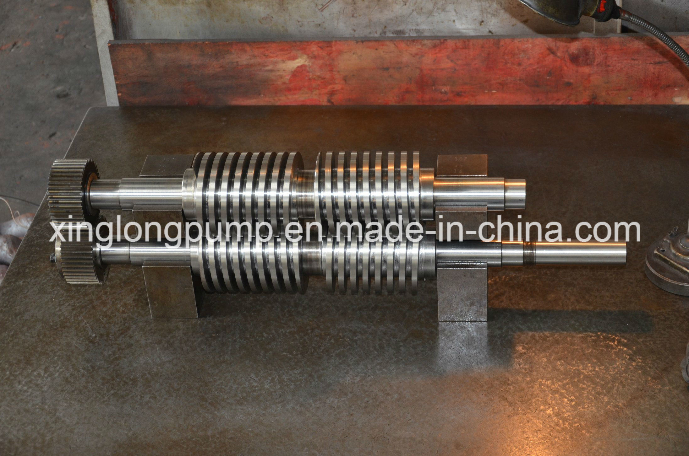 Rotor of Twin Screw Pump