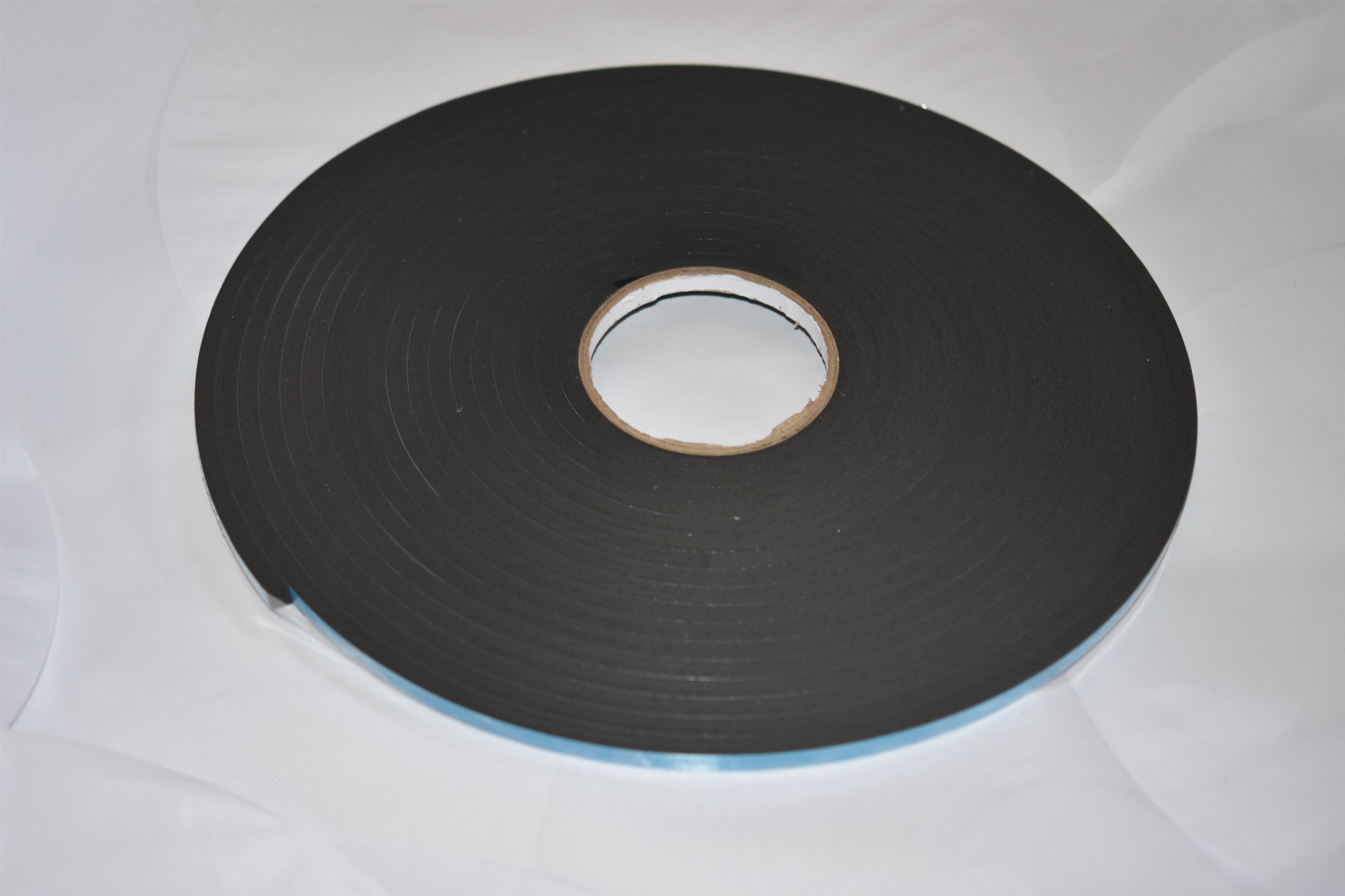 8mm Black Double Sided PVC Foam Tape Coating Acrylic Adhesive