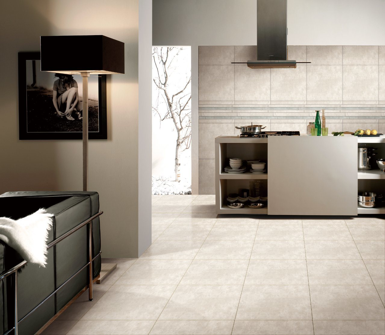Gaogesi-Series/Cement Look/Hot Sales Matte Finished/Rustic Tile Antique Brick Porcelain Floor Tile