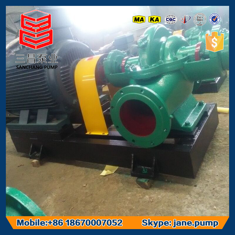Axially Split Case High Flow Large Output Drainage Water Pump
