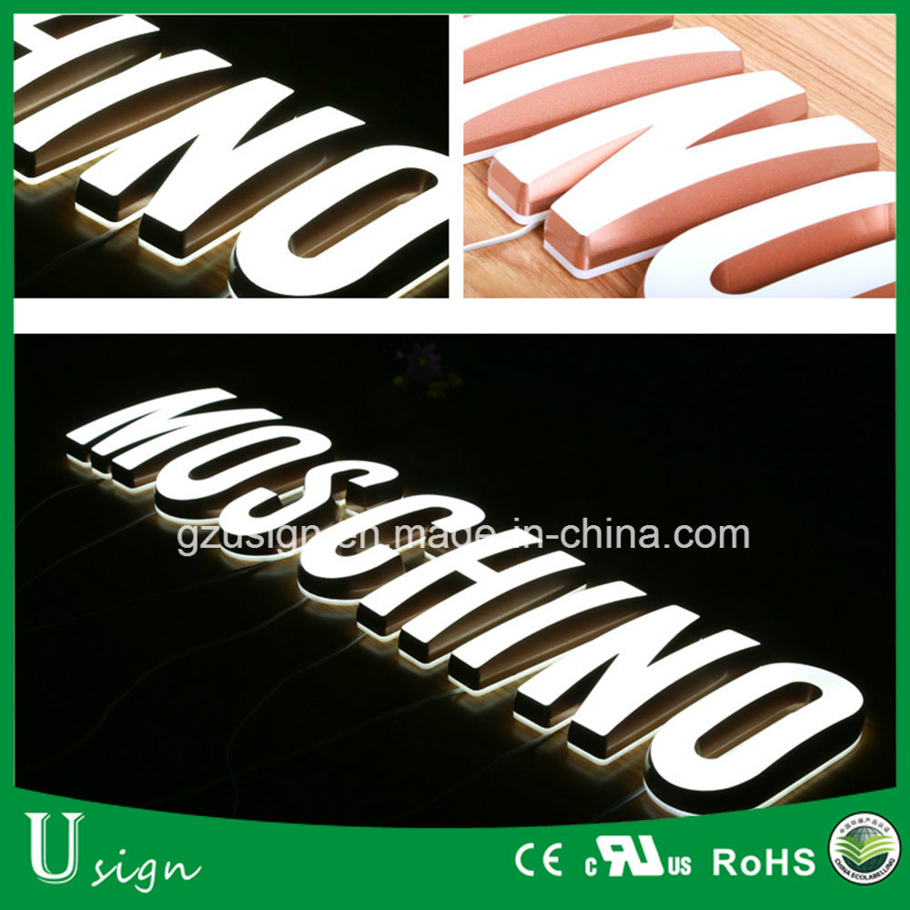 High Bright LED Channel Letters Signs/LED Letter Alphabet