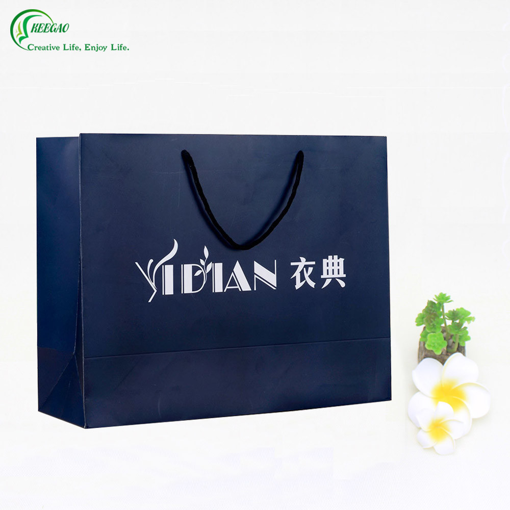 High Quality Shopping Packaging Paper Bag Manufacturer for Clothing/Garment/Shoes (KG-PB021)