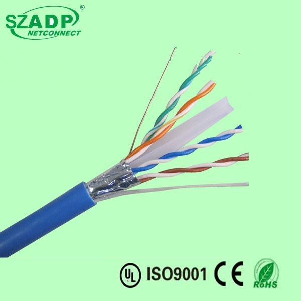 Cheap CCS UTP FTP Cat5e CAT6 Networking Cable 0.45mm 0.5mm 0.48mm 0.56mm Ethernet Cable