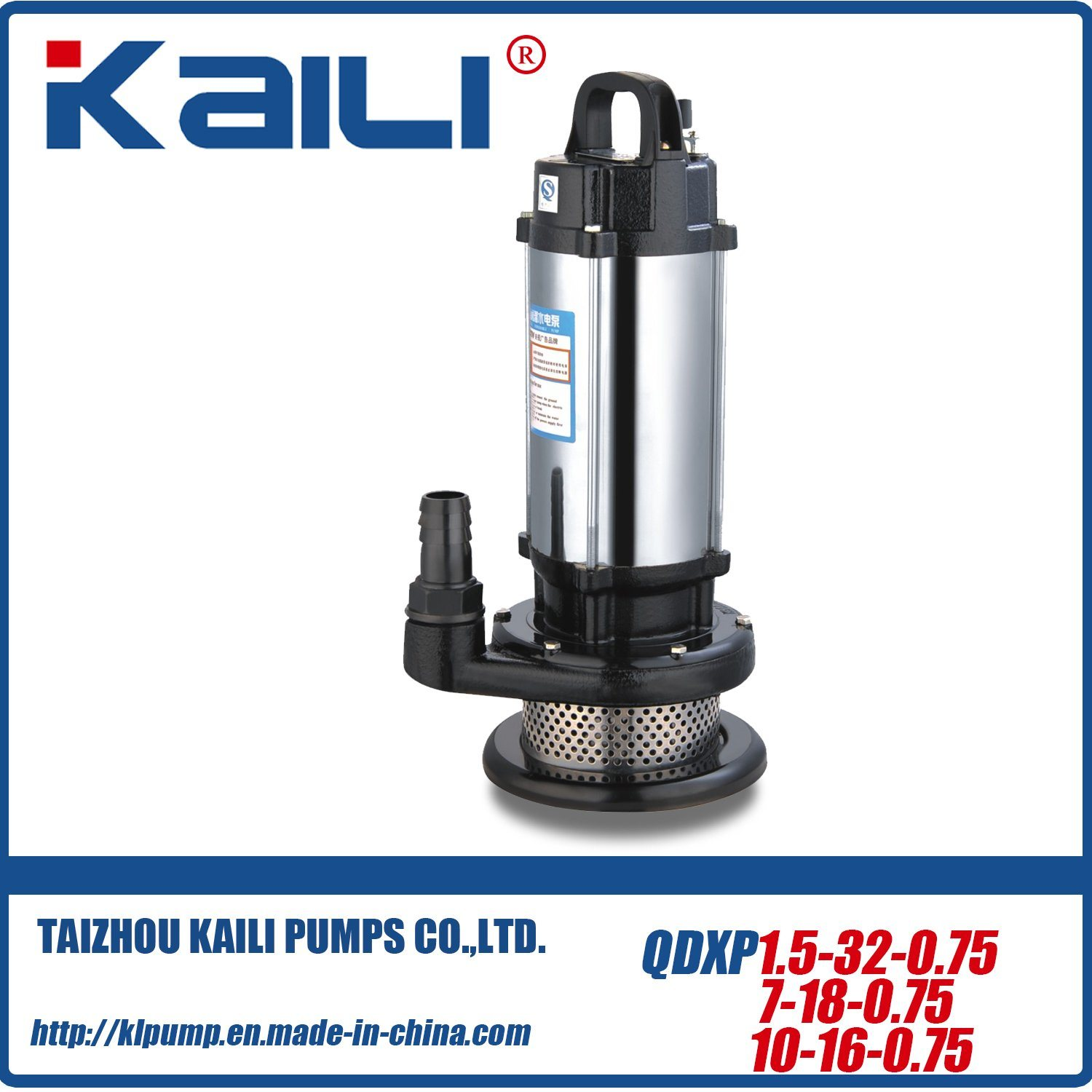 QDX QX Electric Submersible Pumps(QDX30-9-1.1)