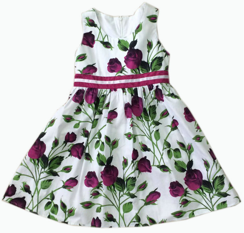 Children Clothing Girl Dress Baby Dress Skirt, Kids Wear (SQD-108)