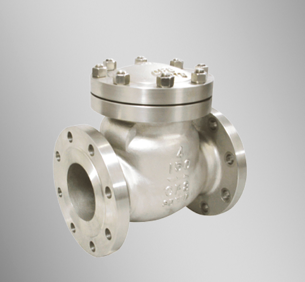 China stainless steel check valve h