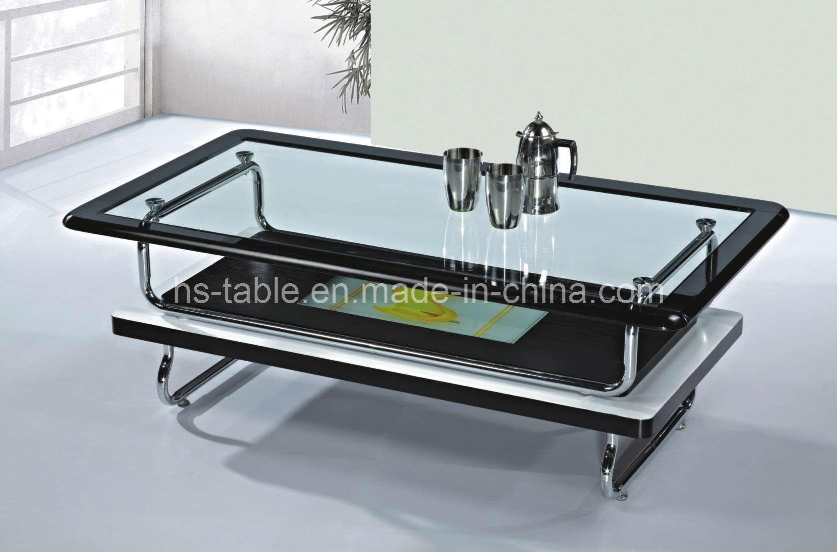 China Coffee/Tea Table (2277) - China Glass Coffee Table, Glass Tea Table