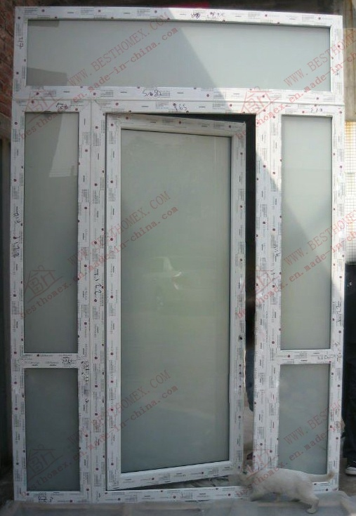 High Quality UPVC Entry Door (BHP-CD22)