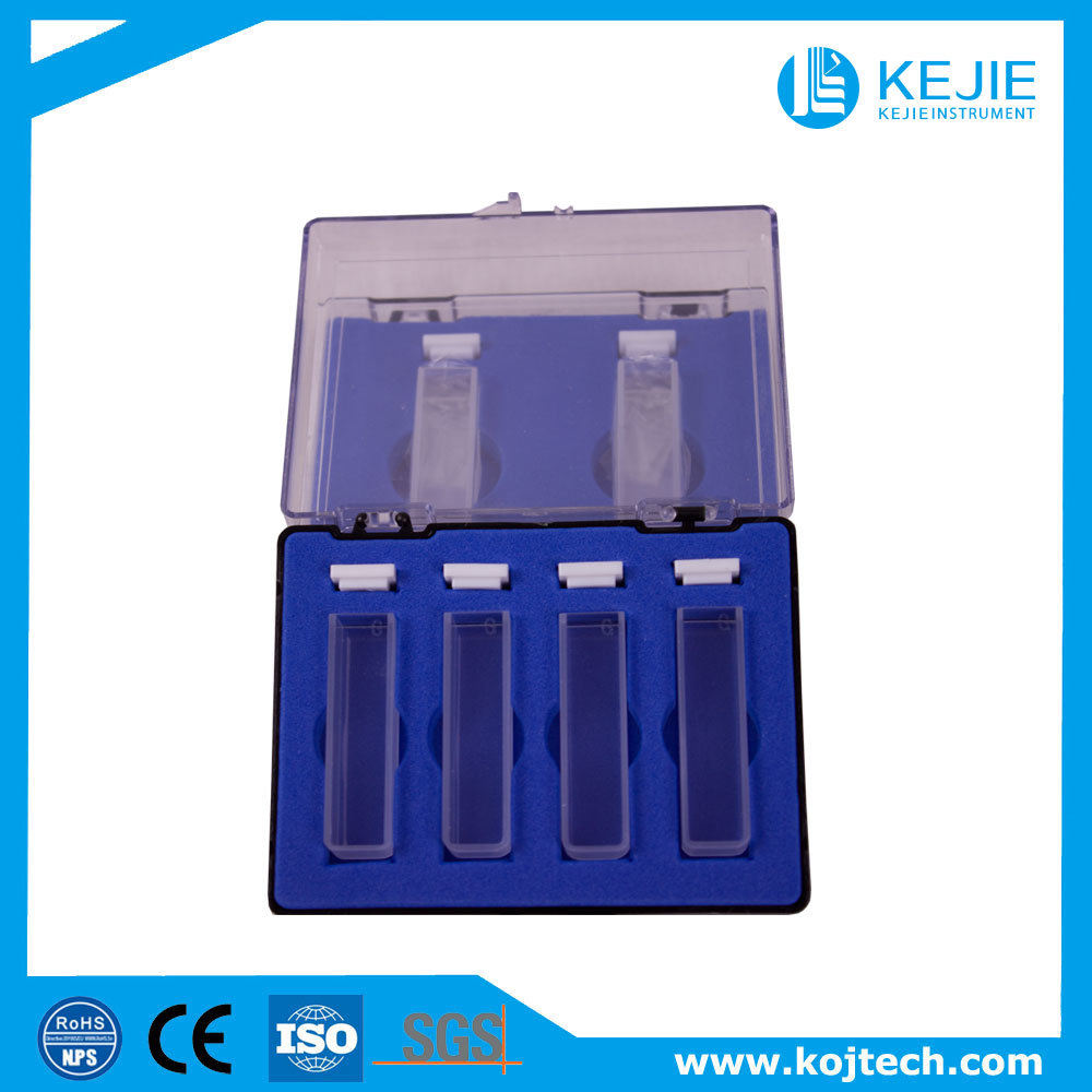 Quartz and Glass Cuvette/Cuvette/Laboratory Instrument