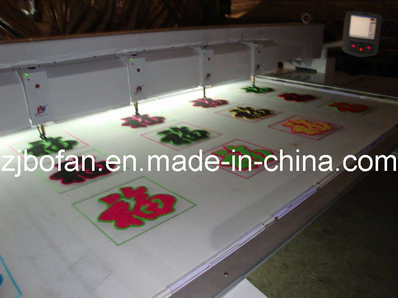 Bofan 615 Chenille/Towel Embroidery Machine