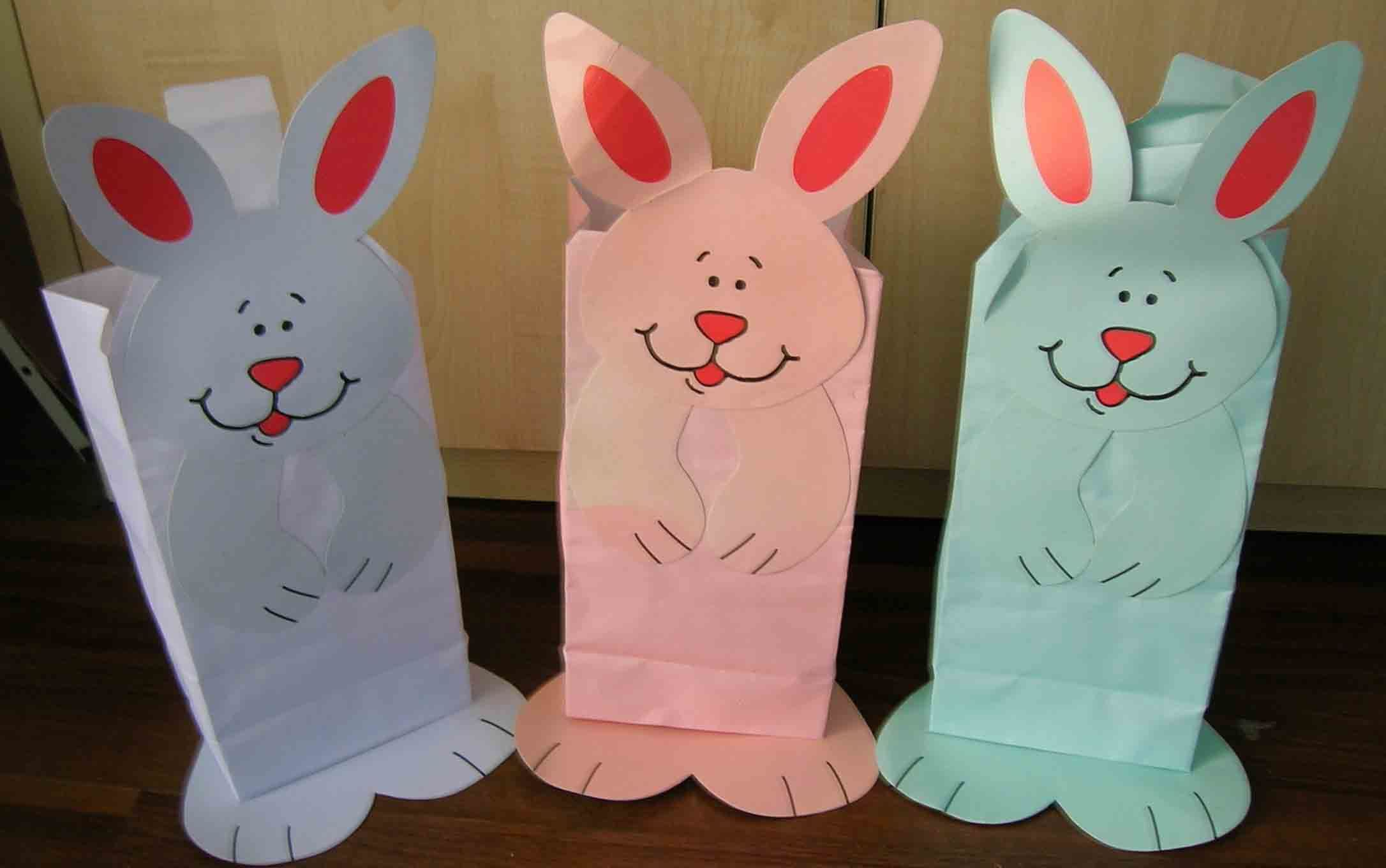 Bunny paper bag